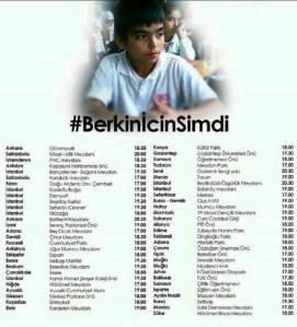 Berkin Elvan (1999 - 2014) Okmeydanındaki evinden ekmek almak için çıktığı sırada #GeziParkı direnişçilerine saldıran polis tarafından kafasına atılan biber gazı kapsülü sonucu 269 gün sonra hayatını kaybetti