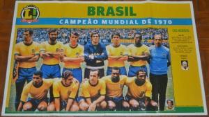 Brezilya'da Sao Paulo'daki büfelerde satılan poster.