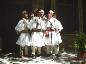 18 A_traditional_male_folk_group_from_Skrapar