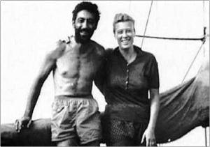 Sadun ve Oda Boro sevgili tekneleri Kısmet'te.