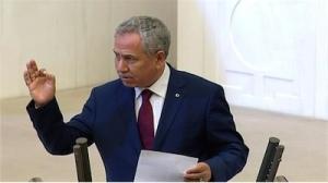"""Bülent Arınç Meclis'te HDP Diyarbakır milletvekili Nursel Aydoğan'a sesleniyor: """"Hanımefendi sus, bir kadın olarak sus."""""""