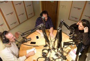 """""""Ben Bugün Bişey Öğrendim"""" editörleri Rauf Kösemen, Ozan Sezgin, Zeynep Sırımoğlu Açık Radyo'da."""