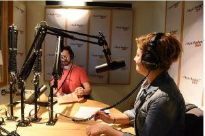Dünya'nın Cazı özel programında Mahir ve Gonca stüdyoda.